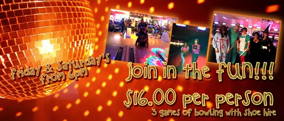 Join in the FUN!!! Great Games and Giveaways every Friday and Saturday night at Go Bowling Ashmore