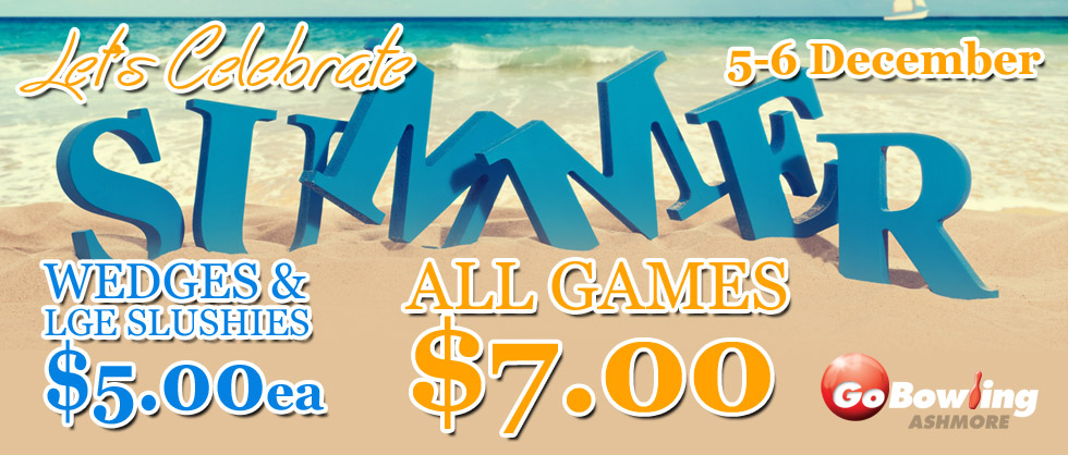 Great deals for the first weekend of Summer. Wedges & Large Slushies only $5ea!