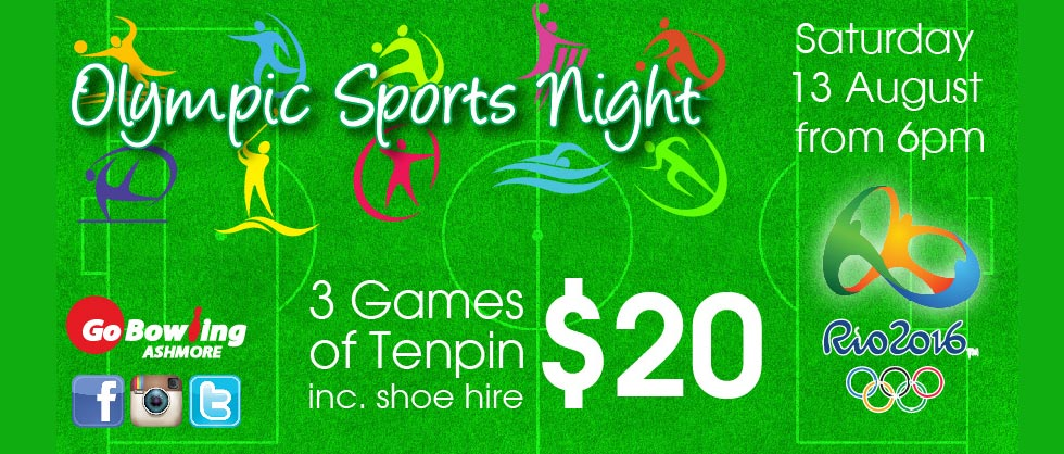 3 Games for $20 inc shoe hire!